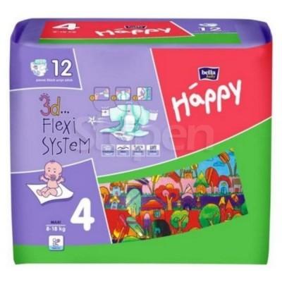 b2381f68efe8 STEPEN.UA™   Подгузники детские Bella Baby Happy Maxi 8-18 кг 12 шт ...
