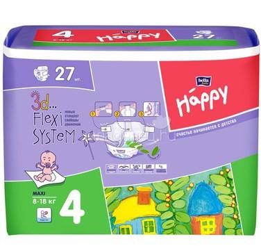 cc55558f396e STEPEN.UA™   Подгузники детские Bella Baby Happy Maxi 8-18 кг 27 шт ...