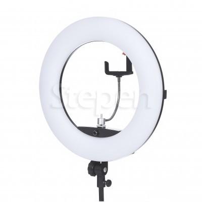 Купить недорого круглую кольцевую светодиодную LED лампу со штативом FD 480II™ | 96 Ватт | для съемки видео, блогеров, макияжа купить недорого в Украине, Киеве, Харькове, Днепре, Одессе