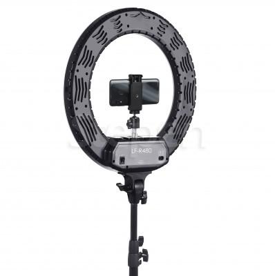 Купить недорого круглую светодиодную кольцевую лампу LUMO™, кольцевой свет со штативом для фото, видеосъемки, блогеров, визажиста, макияжа в Украине (Киеве, Харькове, Днепре, Одессе)