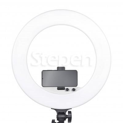 Кольцевая лампа со штативом LUMO SLIM NEW™ | 100 Ватт | диаметром 45 см. для съемки видео, макияжа, блога купить дешево в Украине, Киеве, Харькове, Днепре, Одессе