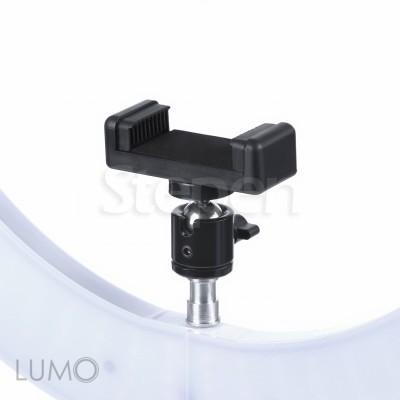 Круглая кольцевая светодиодная ЛЕД лампа со штативом LUMO SLIM™ | 85 Ватт | для съемки видео, блогеров, макияжа купить недорого в Украине, Киеве, Харькове, Днепре, Одессе