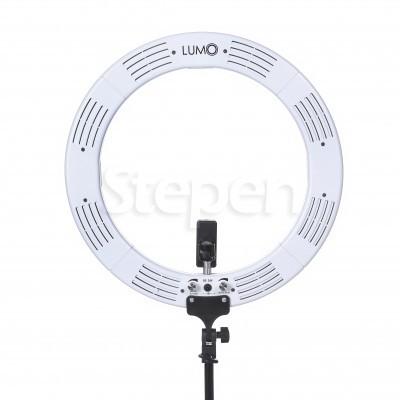 Круглая кольцевая лампа со штативом LUMO SLIM™ | 85 Ватт | диаметром 47 см. для съемки видео, блогеров, макияжа купить недорого в Украине, Киеве, Харькове, Днепре, Одессе