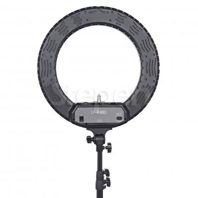 Кольцевая светодиодная лампа LUMO™ LF R-480 | 100 Ватт | для фото, видеосъемки, блогеров, визажиста купить недорого в Украине (Киеве)