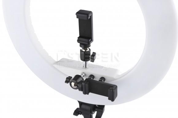 Профессиональный держатель LUMO™ для смартфона и фотоаппарата к кольцевой светодиодной лампе купить в Киеве (Украине)